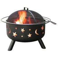 Landmann Big Sky Stars and Moon Fire Pit & Reviews | Wayfair