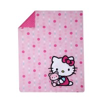 Hello Kitty Cute as a Button 3 Piece Crib Bedding Set ...