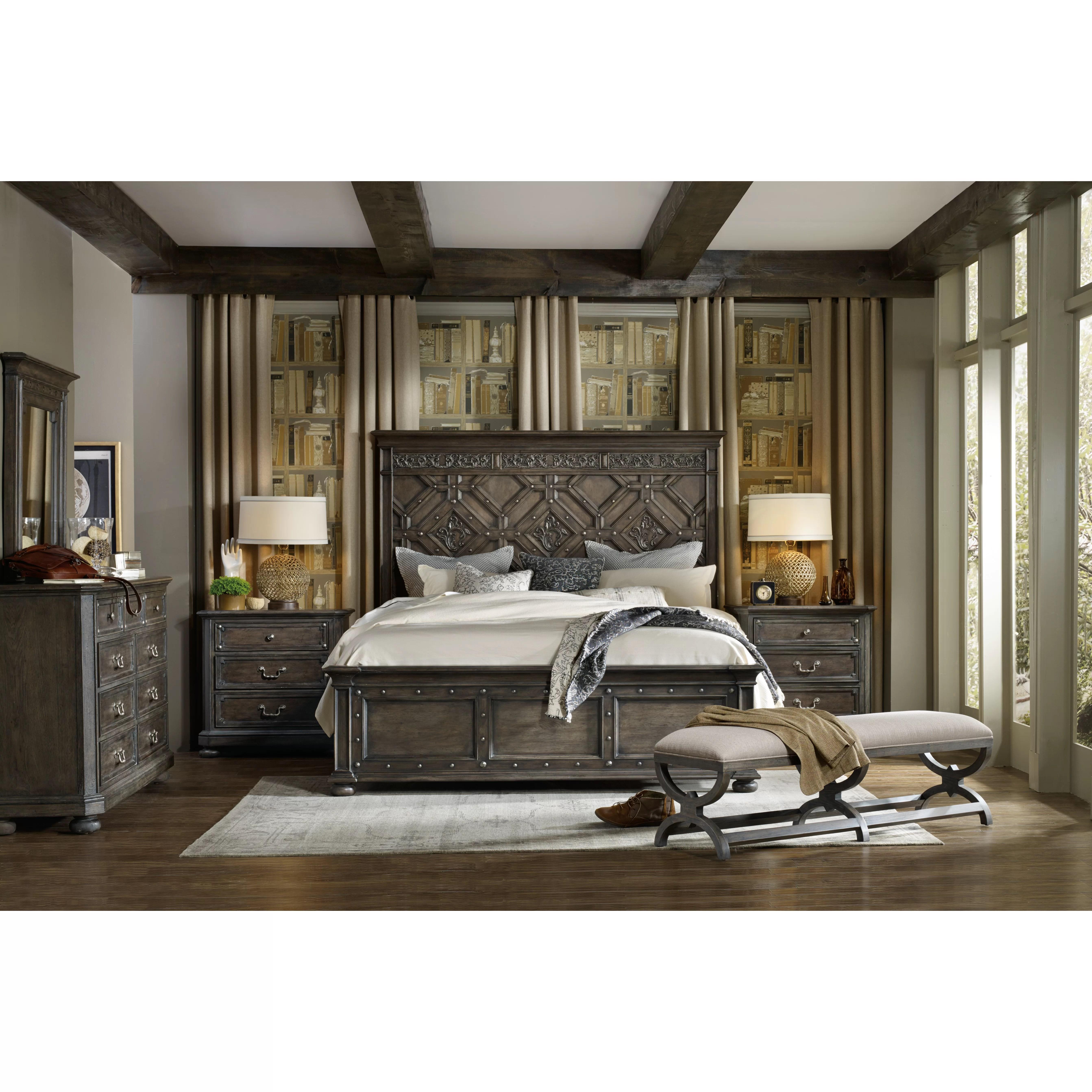 Hooker Furniture California King Panel Customizable