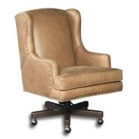 Hooker Furniture Triton Leather Desk Chair | Wayfair