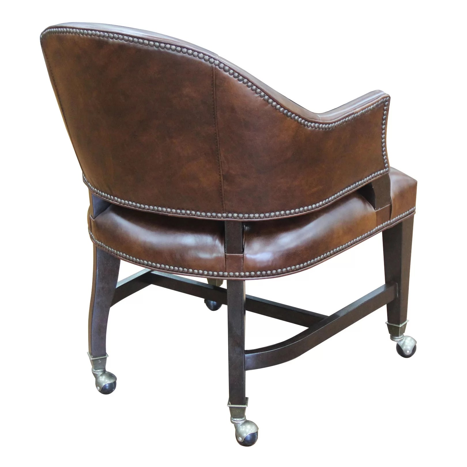 Hooker Leather Chair Hooker Furniture Isadora Leather Desk Chair Wayfair