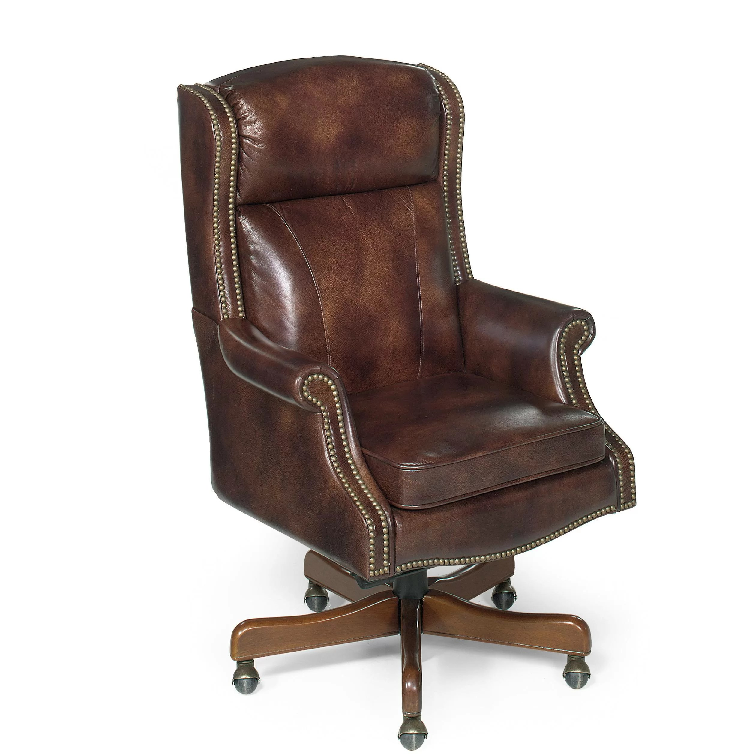 Hooker Leather Chair Hooker Furniture Empire Leather Executive Chair Wayfair
