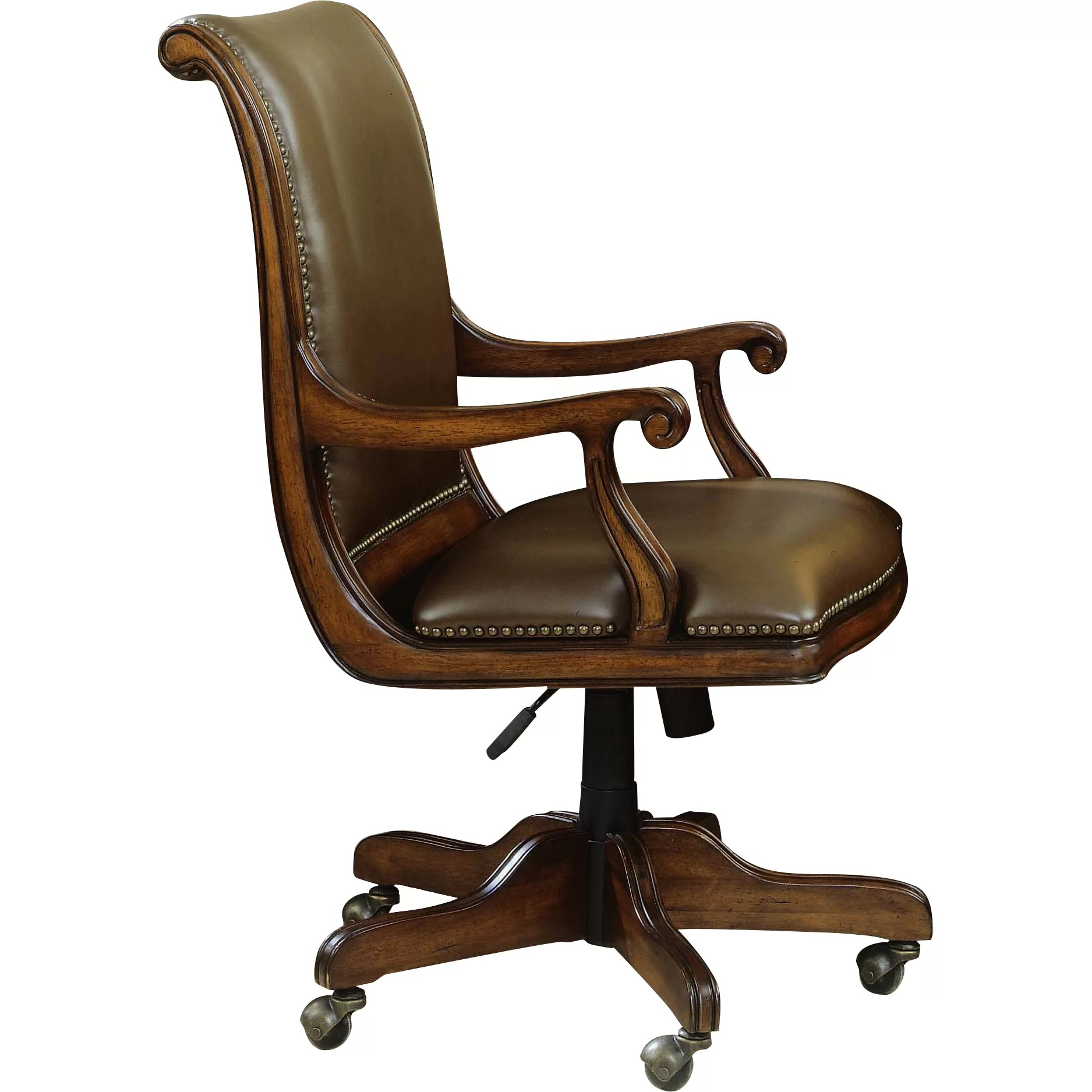 Bankers Chairs Hooker Furniture Brookhaven Leather Bankers Chair