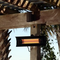 Fire Sense Wall Mounted Electric Patio Heater & Reviews ...