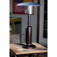 Fire Sense Tabletop Propane Patio Heater & Reviews | Wayfair