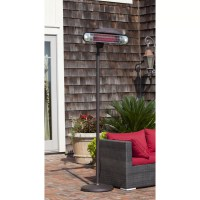 Fire Sense Alta Floor Standing Halogen Electric Patio