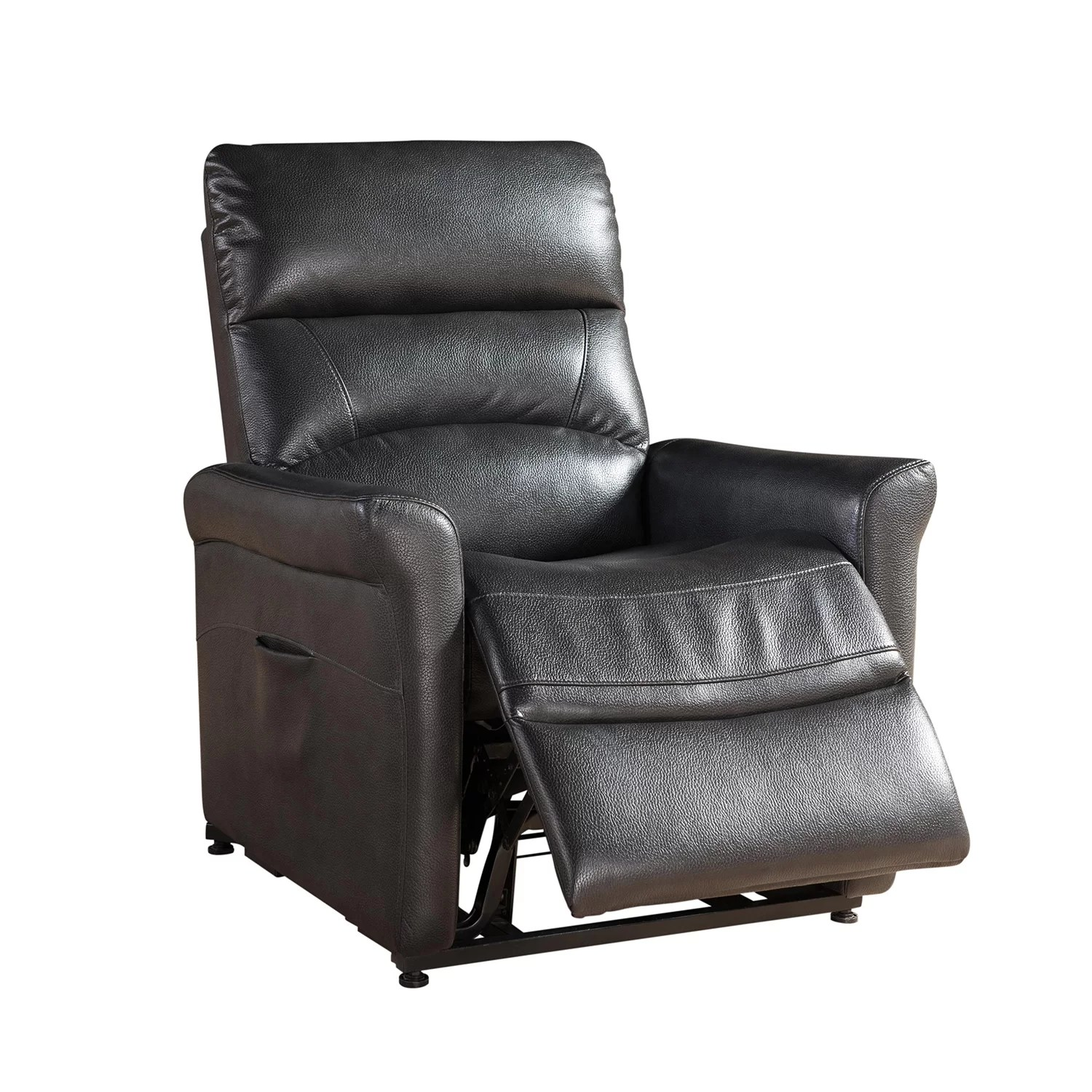 Power Reclining Chairs Ac Pacific Colby Large Power Reclining Lift Chair Wayfair Ca