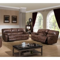 AC Pacific Leighton 2 Piece Reclining Living Room Set ...