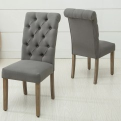 Tufted Side Chair Christmas Wedding Covers Ac Pacific Christies Roll Top Modern