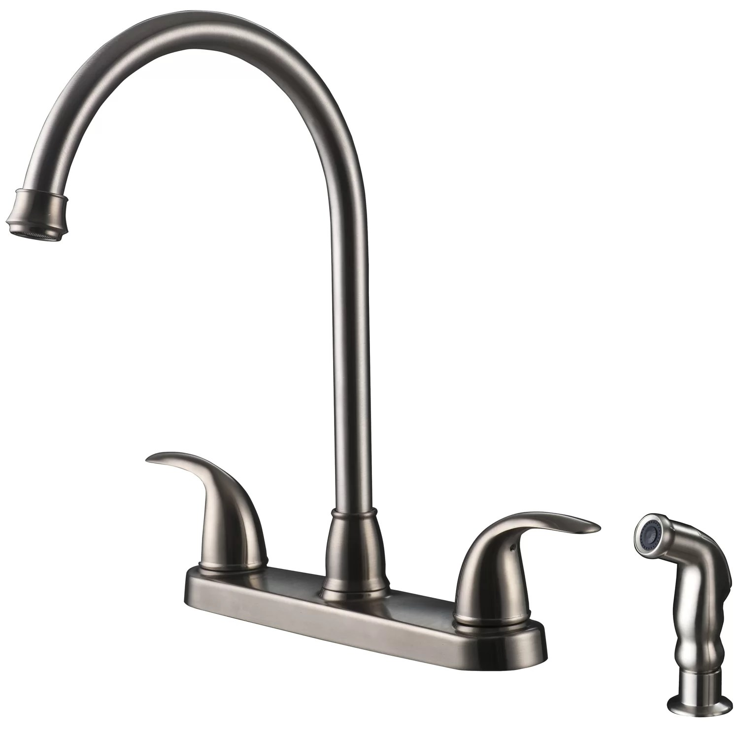 2 handle kitchen faucet carts ultra faucets two centerset with