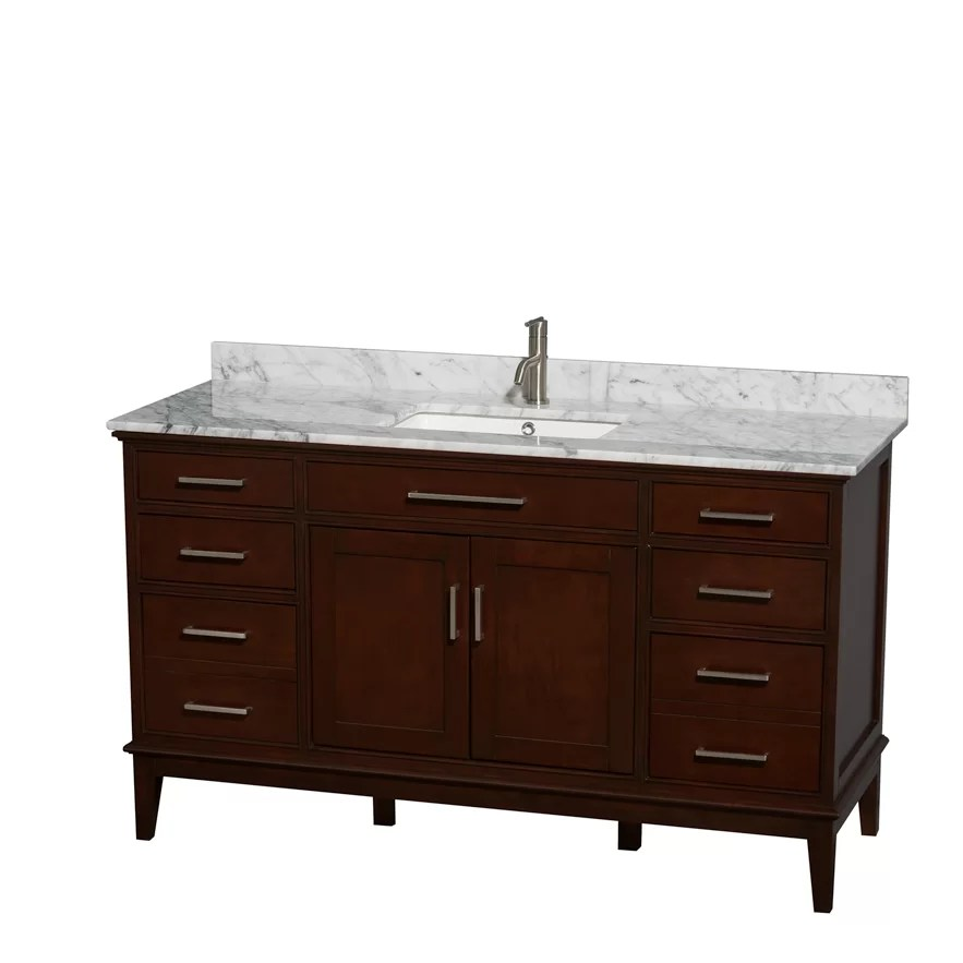 Wyndham Collection Hatton 60 Single Bathroom Vanity Set