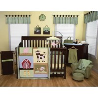Trend Lab Baby Barnyard 3 Piece Crib Bedding Set | Wayfair