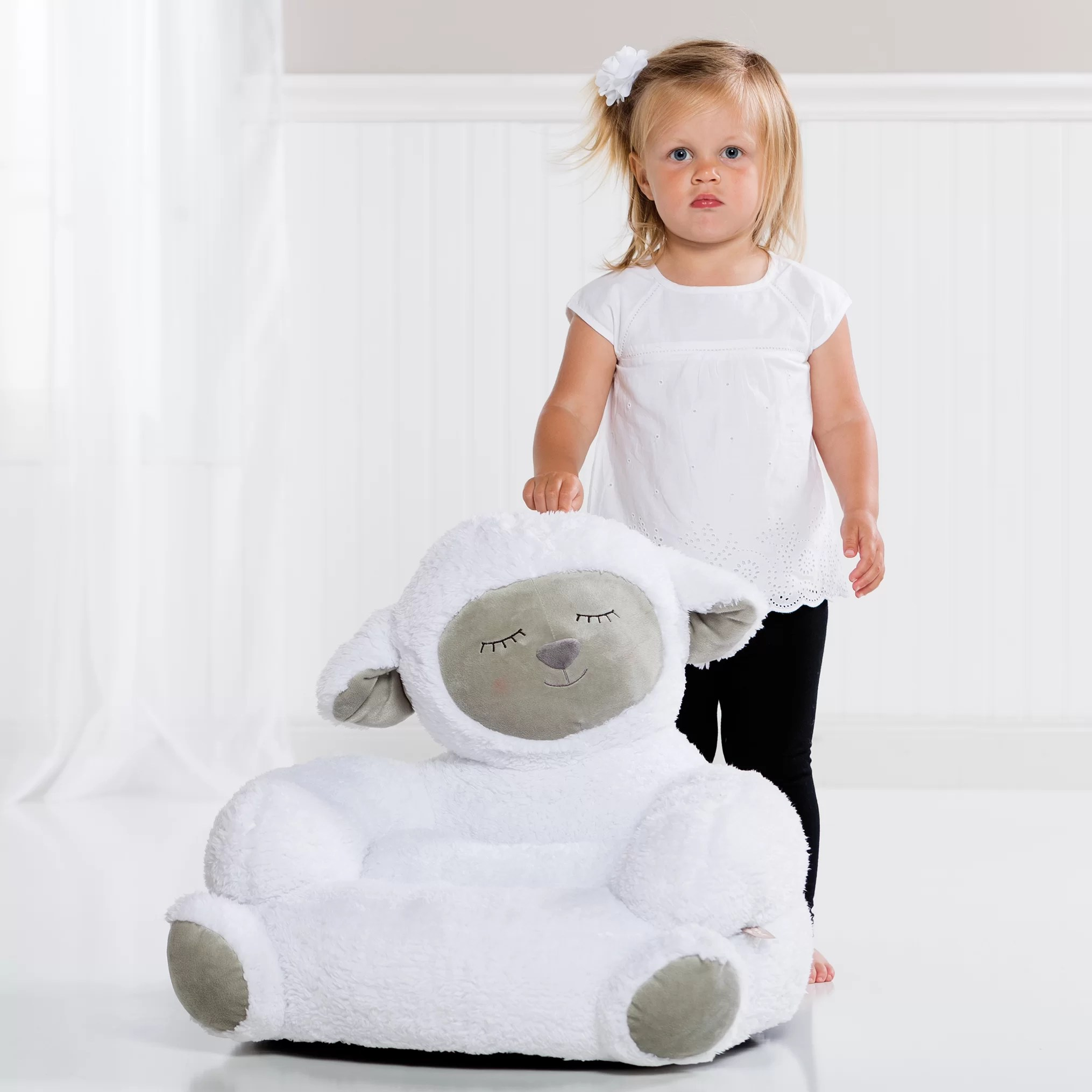 Plush Toddler Chair Trend Lab Trend Lab Lamb Plush Character Children 39s Chair