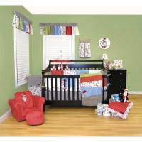 Trend Lab Dr Seuss Cat in the Hat 4 Piece Crib Bedding Set ...