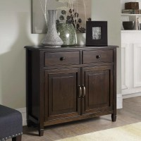 Simpli Home Connaught 2 Drawers and 2 Door Entryway