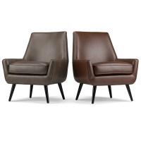 Simpli Home Warhol Mid Century Side Chair