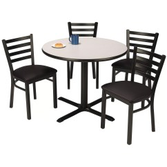 Circle Table And Chair Set Covers For Purchase Kfi Seating Round Cafeteria Wayfair