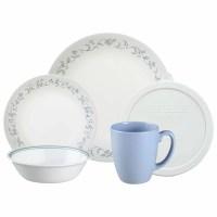 Corelle Livingware Country Cottage 20 Piece Dinnerware Set ...