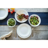 Corelle Livingware Winter Frost 16 Piece Dinnerware Set ...