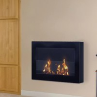 Anywhere Fireplaces SoHo Wall Mount Bio-Ethanol Fireplace ...