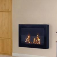 Anywhere Fireplaces SoHo Wall Mount Bio-Ethanol Fireplace ...