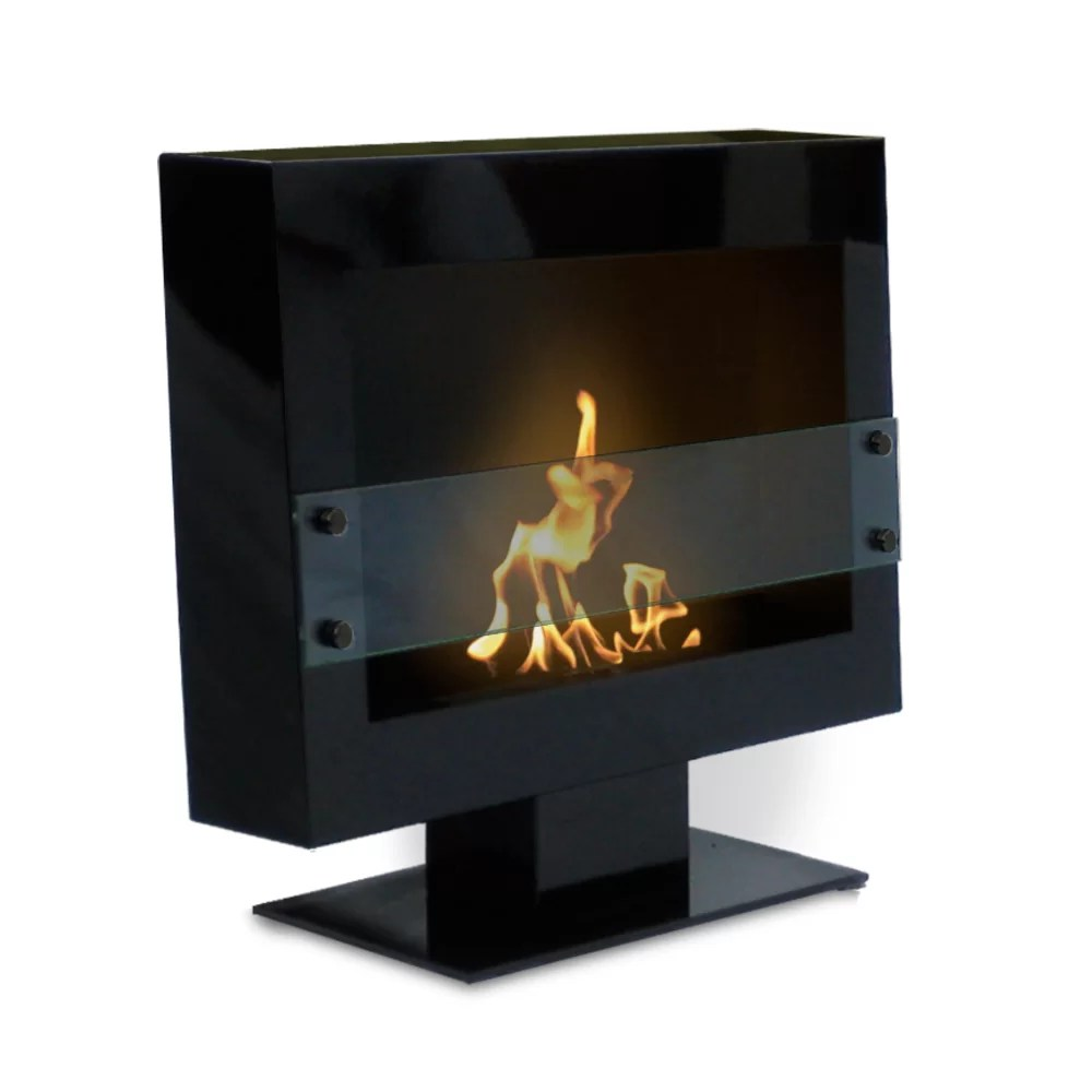 Anywhere Fireplaces Anywhere Fireplaces Tribeca Free Standing Bio Wall Mount Ethanol Fireplace