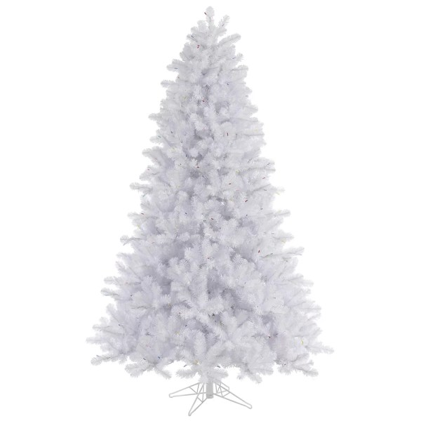 Vickerman Crystal White 4539 Pine Artificial Christmas