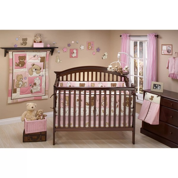 Little Bedding Dreamland Teddy 10 Piece Crib Set