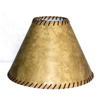 "Lamp Factory 15"" Faux Leather Empire Lamp Shade & Reviews ..."