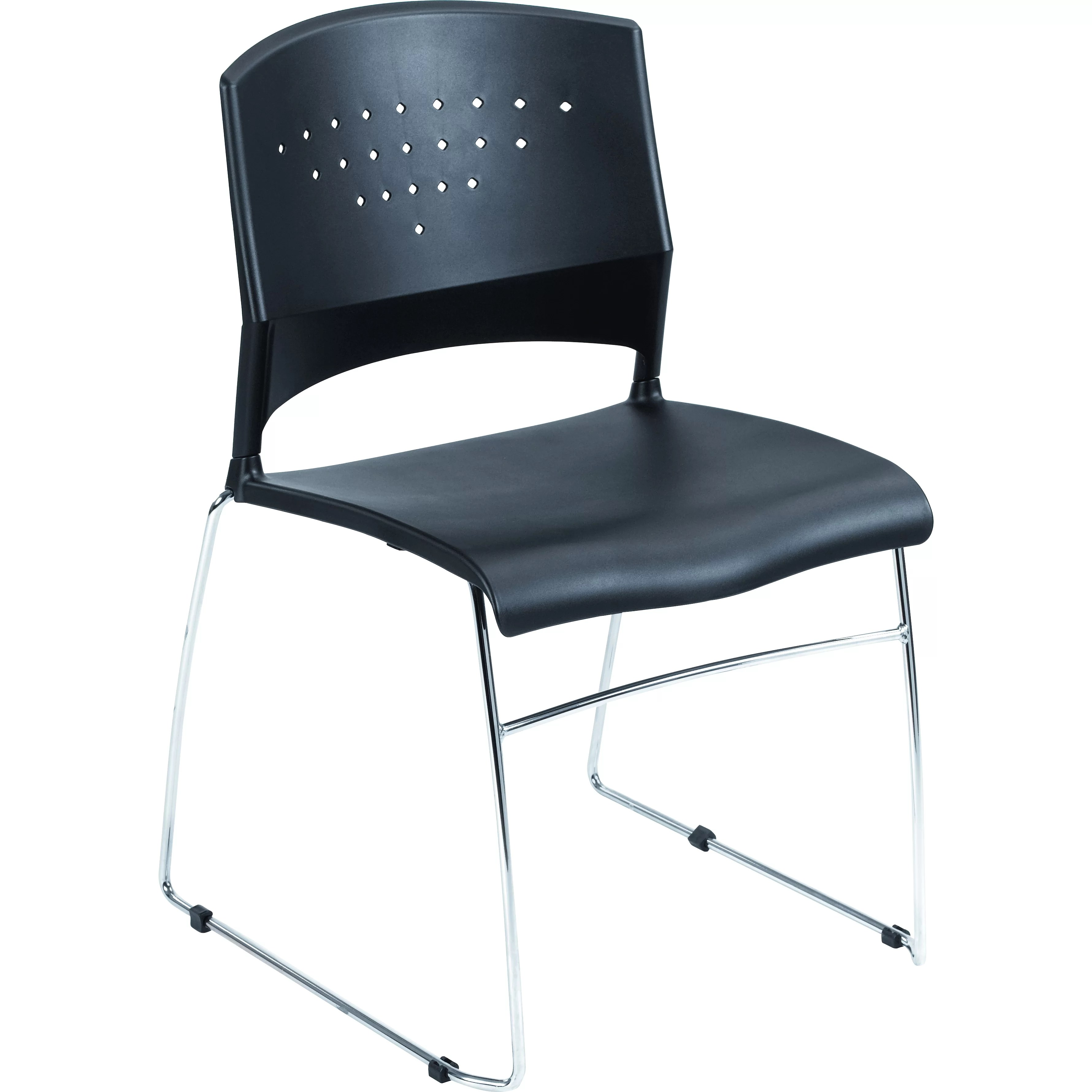 Boss Office Products Armless Stacking Chair  Reviews