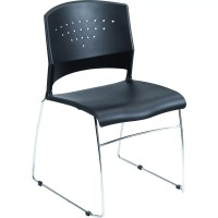 Boss Office Products Armless Stacking Chair & Reviews