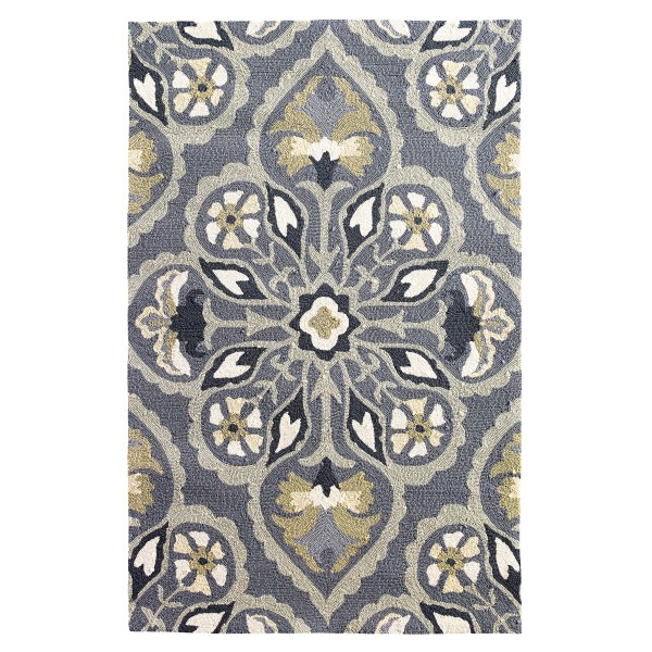 Company Pierre Pewter Area Rug &