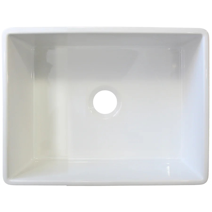 Alfi Brand 26 X 20 Single Bowl Farmhouse Kitchen Sink