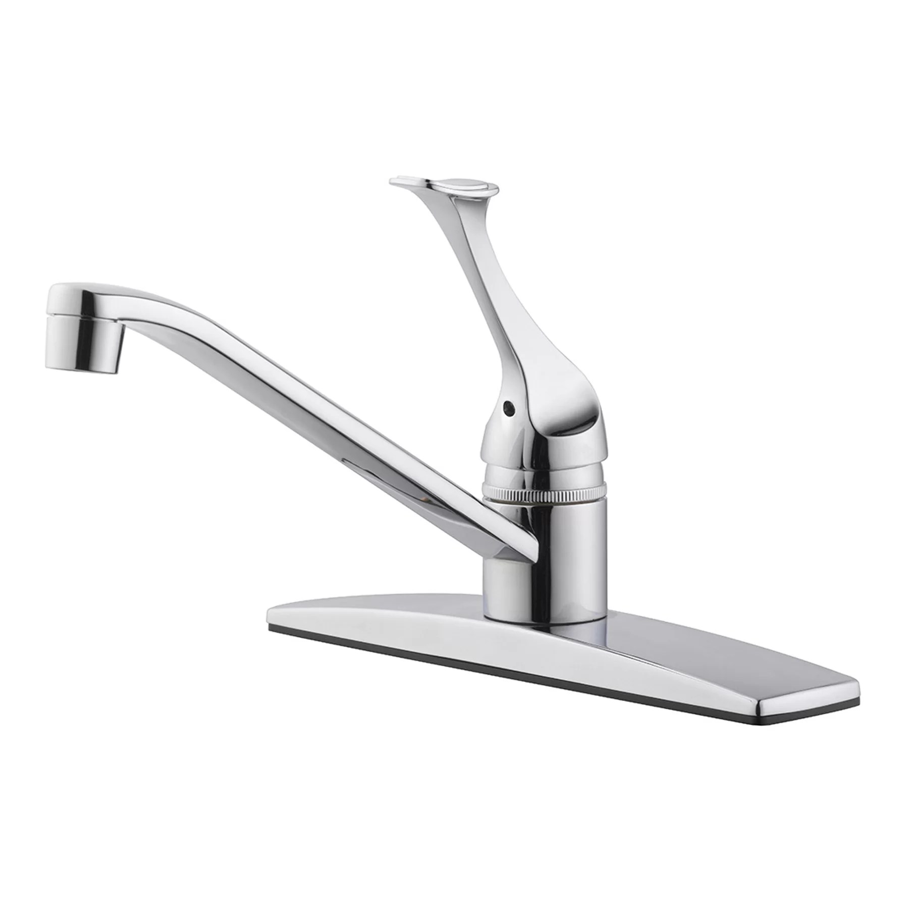 kitchen faucet with side spray design studio house millbridge single handle hole