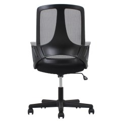 Desk Chair Reviews Elegant Covers Ofm Essentials Swivel Mid Back Mesh And