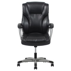High Back Leather Executive Chair Antique Styles Ofm Ergonomic Office