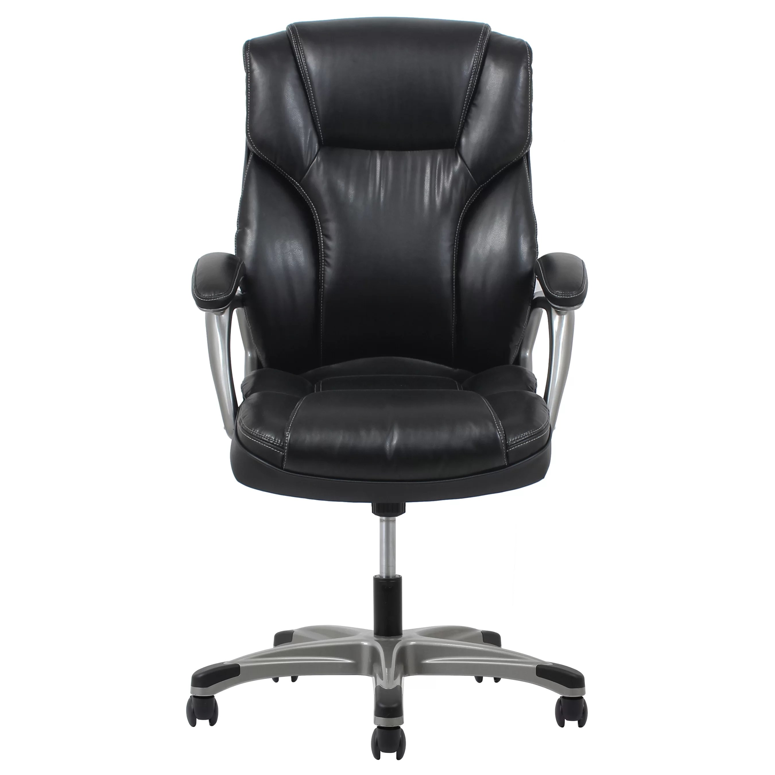 leather executive chair used tables and chairs for sale ofm essentials ergonomic reviews
