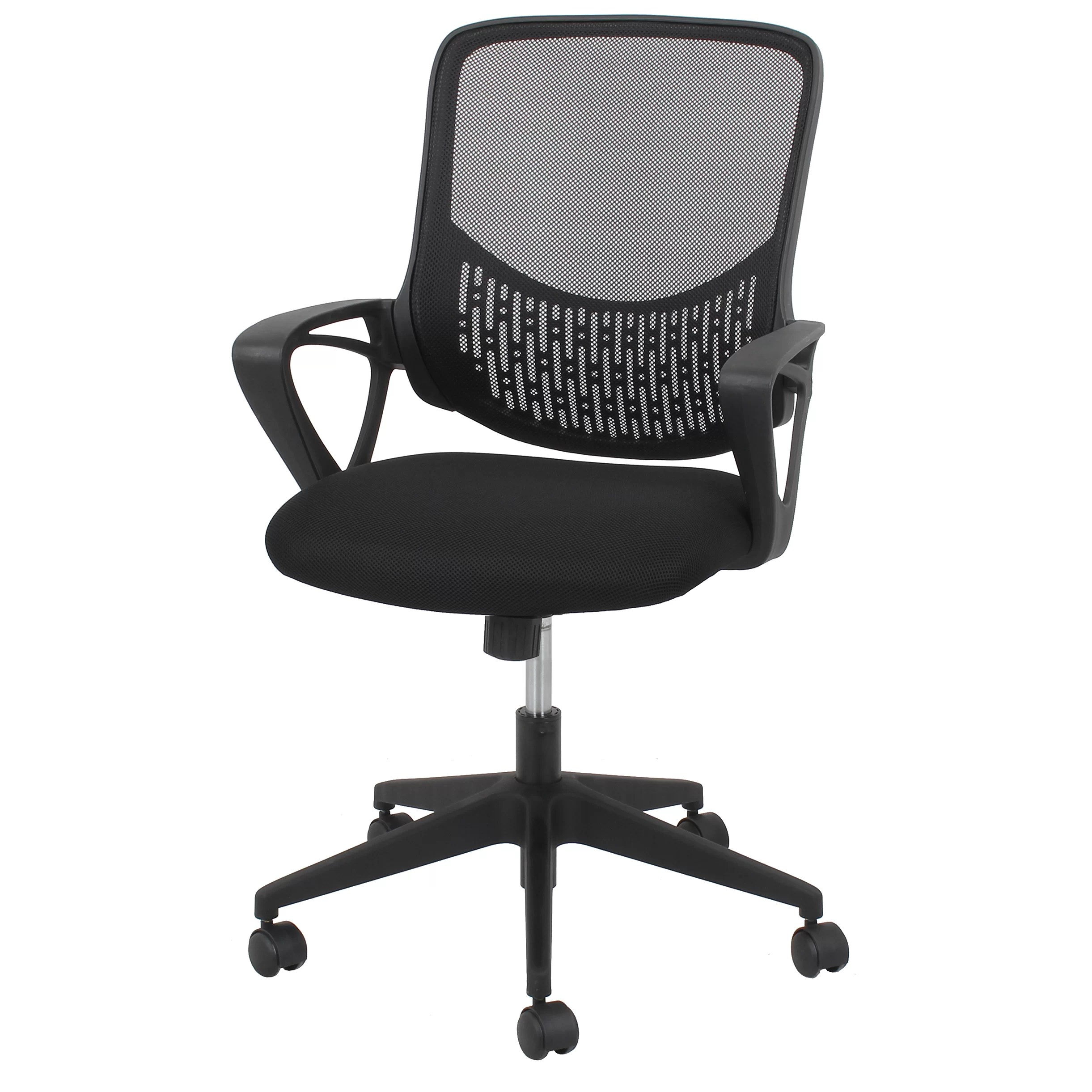 mid back mesh chair covers manchester ofm essentials desk wayfair