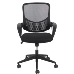 Swivel Office Chair No Arms Eames Ofm Essentials Mid Back Mesh Desk With Wayfair