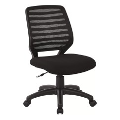 Mid Back Mesh Chair Pibbs Pedicure Office Star Screen Task With T