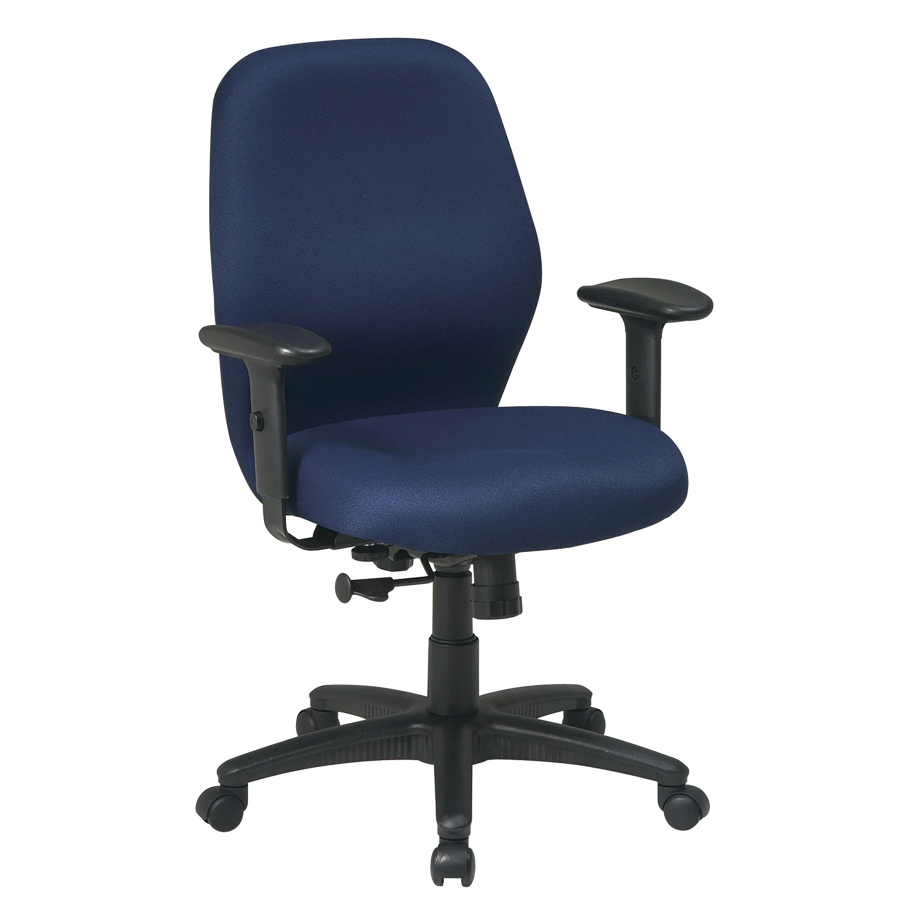 Work Chair Office Star Work Smart Mid Back Desk Chair And Reviews Wayfair