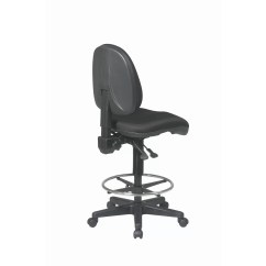 Adjustable Drafting Chair Swing Indoor Office Star Height With Footring