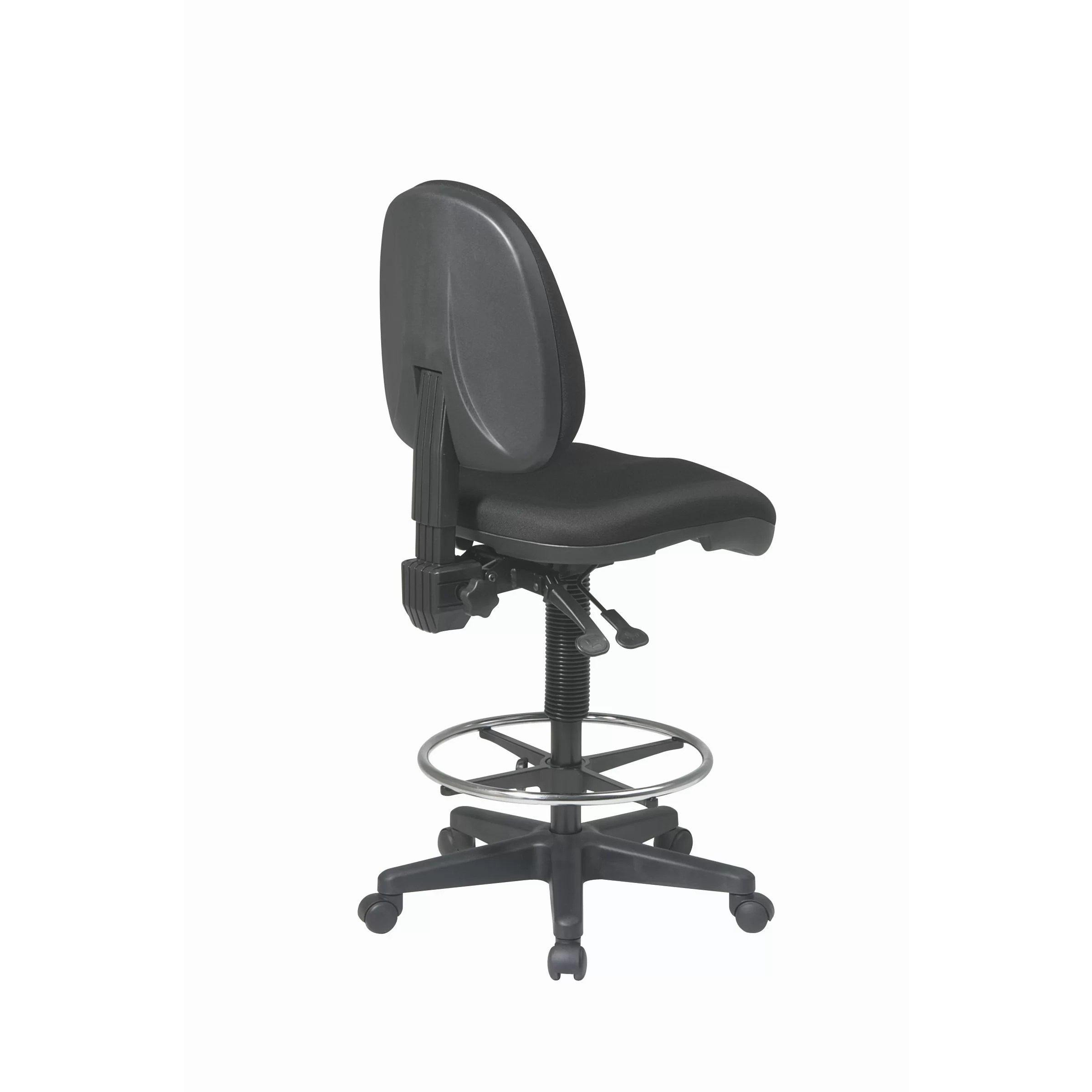 Drafting Chairs Office Star Height Adjustable Drafting Chair With Footring
