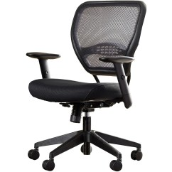 Office Star Chairs Sling Outdoor Space Mid Back Mesh Desk Chair And Reviews