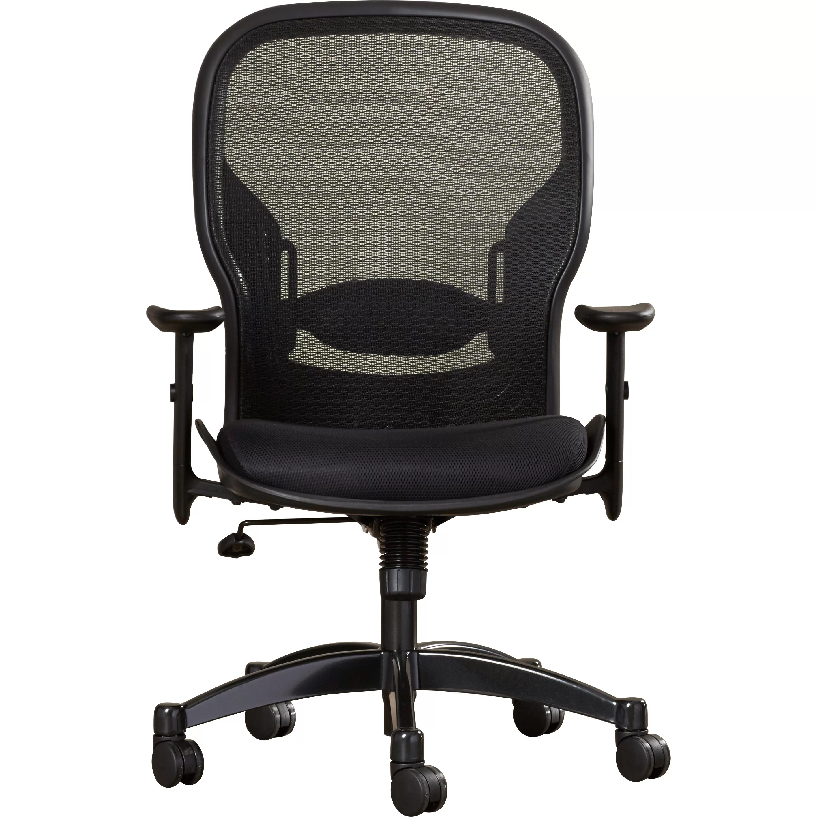 Office Chair With Arms Office Star Space Matrex Mid Back Mesh Managerial Chair