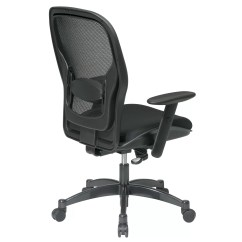 Mesh Back Chairs For Office White Armless Chair Star Space High Desk And Reviews