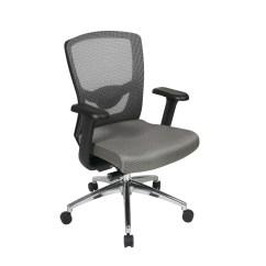 Office Chair High Seat Stool Ladder Star Back Ergonomic Progrid Mesh