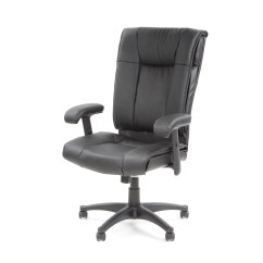Office Chair Reviews Butterfly Folding Star Deluxe High Back Leather Executive