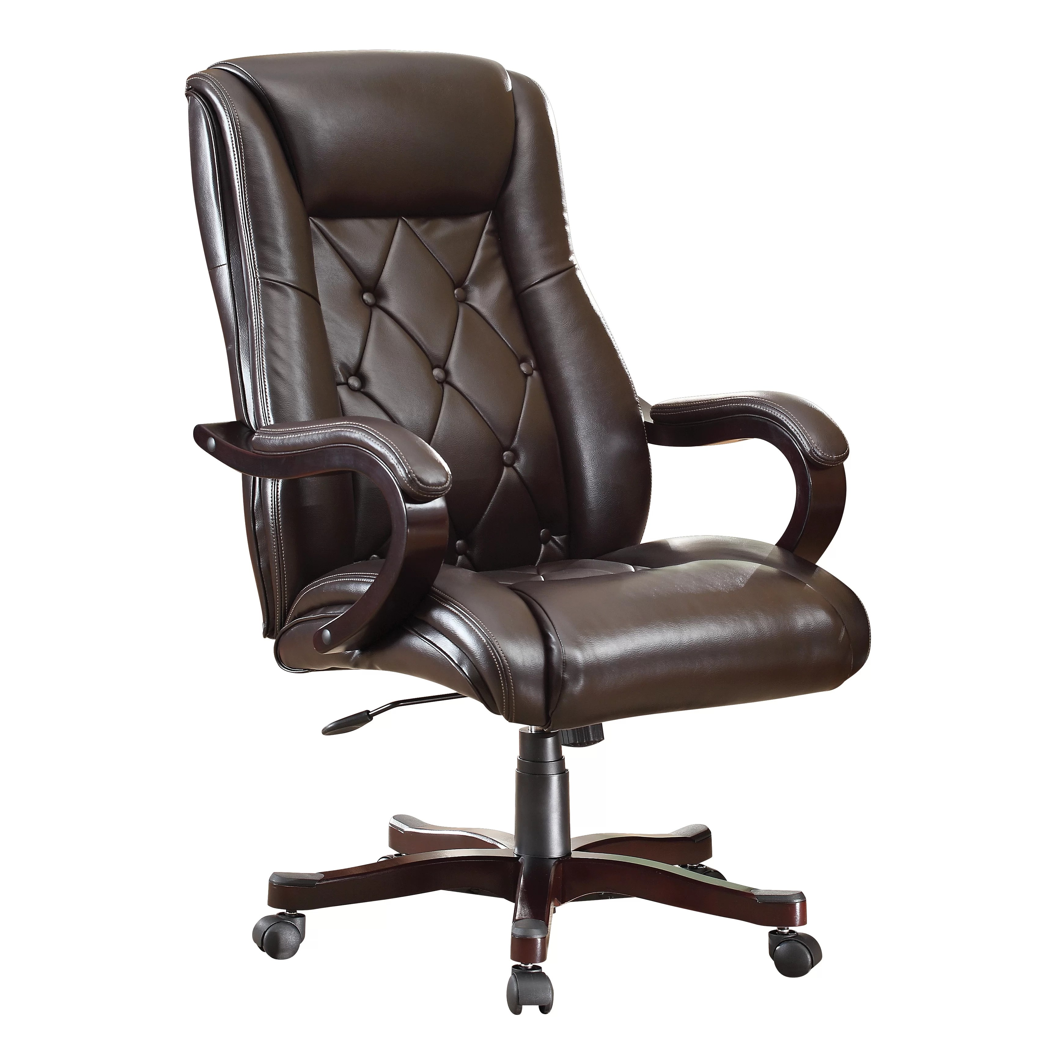 Office Star Chapman Eco Leather Executive Chair  Reviews  Wayfair Supply