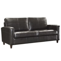 Office Star Leather Sofa & Reviews